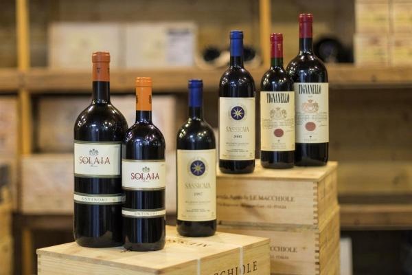 Fine wines & Spirits from important international merchants